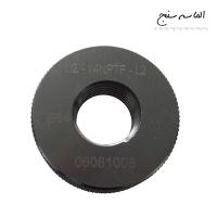 "گیج رینگی پیچی مخروطی سایز Taper 1/2""-14NPTF-L2"
